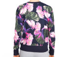 Bonds Women's Sweats Pullover - Super Optic Bloom 5