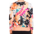 Bonds Women's Sweats Pullover - Studio Floral 5