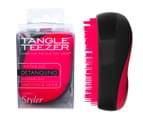 Tangle Teezer Compact Styler Detangling Hairbrush - Pink Sizzle 1