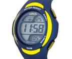 LORUS Youths' 46mm Digital Watch - Blue/Yellow 3