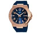 LORUS Men's 46mm Watch - Navy/Rose Gold 1