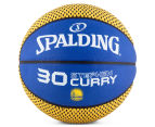 SPALDING NBA Golden State Warriors Stephen Curry Basketball - Size 7 1