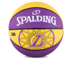 SPALDING NBA Los Angeles Lakers Basketball - Size 7 1