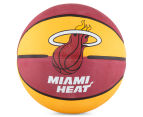 SPALDING NBA Miami Heat Basketball - Size 7 2