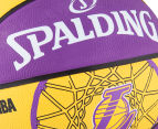 SPALDING NBA Los Angeles Lakers Basketball - Size 7 4