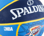 SPALDING NBA Thunder OKC Basketball - Size 7 4