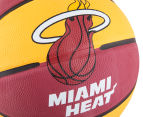 SPALDING NBA Miami Heat Basketball - Size 7 5