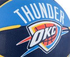 SPALDING NBA Thunder OKC Basketball - Size 7 5