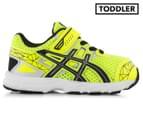 ASICS Toddler GT-1000 3 TS Shoe - Flash Yellow/Black/Lightning 1