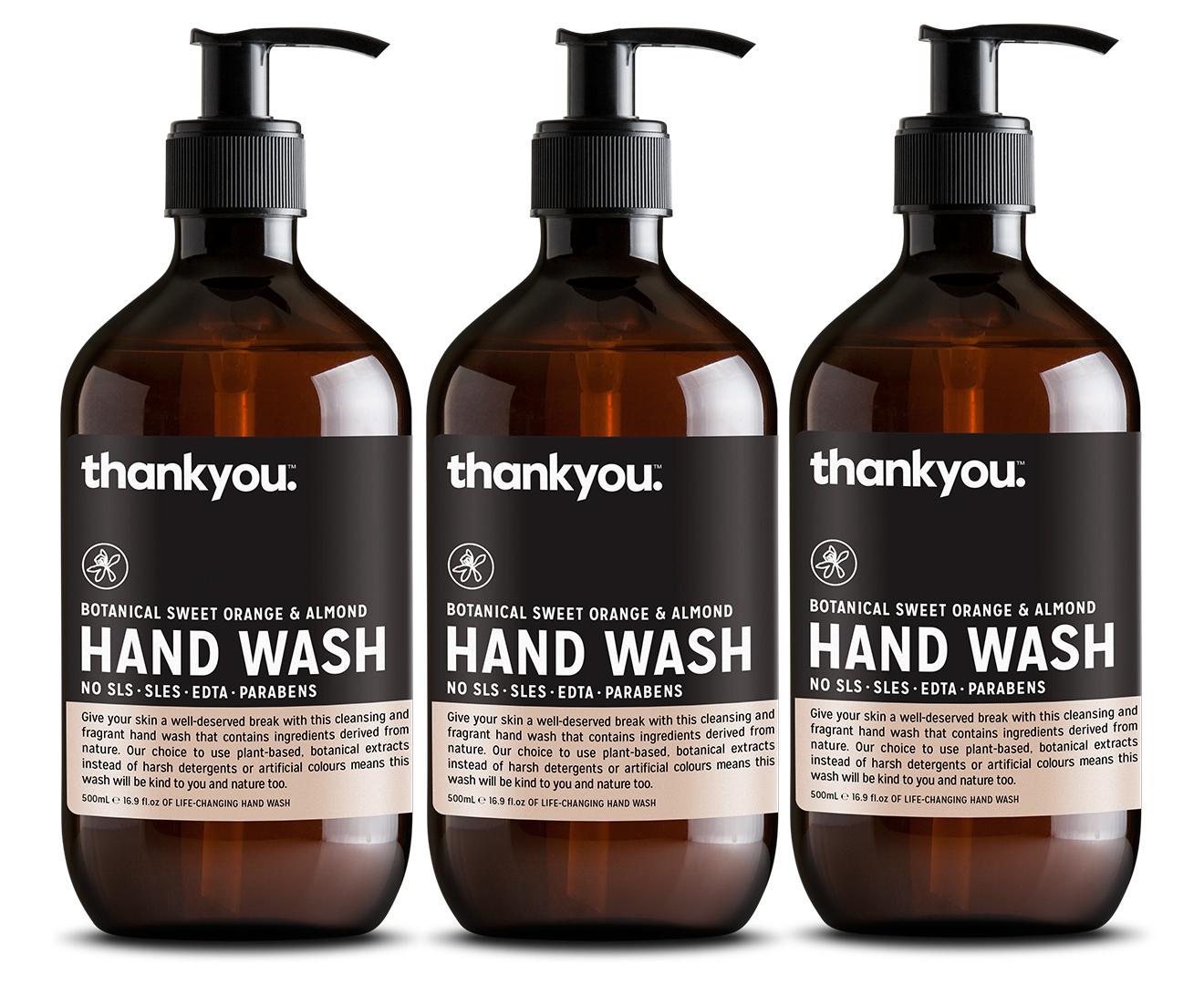 Catchoftheday Com Au 3 X Thankyou Hand Wash Orange
