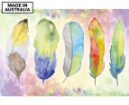 Feather Flow 90x59cm Canvas Wall Art 1
