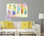 Feather Flow 90x59cm Canvas Wall Art 2