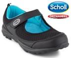 Scholl Women's Gusto Orthaheel Shoe - Black 1