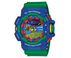 Casio G-Shock Men's 53mm GA400-2A Duo Watch - Blue/Green 1