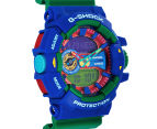 Casio G-Shock Men's 53mm GA400-2A Duo Watch - Blue/Green 2