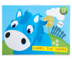 Korimco Jumping Animals Harry The Horse - Blue 3