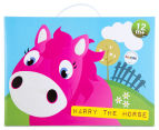 Korimco Jumping Animals Harry The Horse - Pink 3