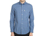 Ben Sherman Men's House Gingham Shirt - Sky Blue 2
