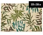 Colour Leaves 320x230cm UV Treated Indoor/Outdoor Rug - Multi 1