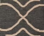 Geometric 160x110cm UV Treated Indoor/Outdoor Rug - Grey 5