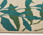 Colour Leaves 220x150cm UV Treated Indoor/Outdoor Rug - Multi 3