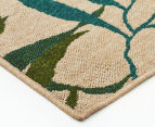 Colour Leaves 320x230cm UV Treated Indoor/Outdoor Rug - Multi 2