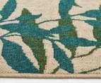 Colour Leaves 320x230cm UV Treated Indoor/Outdoor Rug - Multi 3