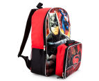 DC Comics Batman Vs Superman 40cm Backpack w/ BONUS Lunch Bag 2