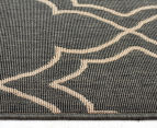 Geometric 320x230cm UV Treated Indoor/Outdoor Rug - Grey 3