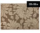 Oriental 220x150cm UV Treated Indoor/Outdoor Rug - Malt 1
