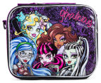 Monster High Lunch Bag w/ Strap - Black/Purple 3