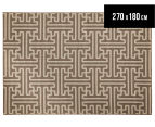 Columns 270x180cm UV Treated Indoor/Outdoor Rug - Malt 1