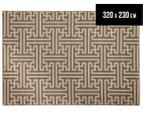 Columns 320x230cm UV Treated Indoor/Outdoor Rug - Malt 1