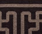 Columns 160x110cm UV Treated Indoor/Outdoor Rug - Brown 4
