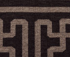 Columns 320x230cm UV Treated Indoor/Outdoor Rug - Brown 4