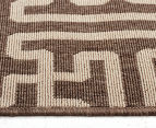 Columns 270x180cm UV Treated Indoor/Outdoor Rug - Malt 4