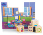 Peppa Pig 30Pc Alphabet & Puzzle Blocks 6