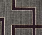 Borders 270x180cm UV Treated Indoor/Outdoor Rug - Grey 4