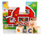 Fisher-Price 30Pc Little People ABC Puzzle Block Set 6