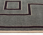 Borders 320x230cm UV Treated Indoor/Outdoor Rug - Grey 3