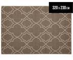 Geometric 320x230cm UV Treated Indoor/Outdoor Rug - Malt 1