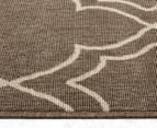 Geometric 160x110cm UV Treated Indoor/Outdoor Rug - Malt 3