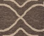 Geometric 160x110cm UV Treated Indoor/Outdoor Rug - Malt 5