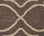 Geometric 270x180cm UV Treated Indoor/Outdoor Rug - Malt 4