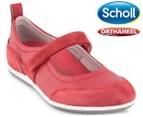 Scholl Women's Rhythm Shoe - Red 1