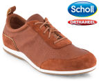 Scholl Women's Rhyme Shoe - Dark Tan 1
