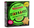 3 x Carman's Yummo's Choc Chip & Apple Star Bakes 6pk 150g 2