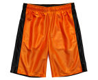 Just Jack Boys' Reversible Sport Short - Black/Orange 1