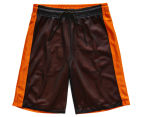 Just Jack Boys' Reversible Sport Short - Black/Orange 2