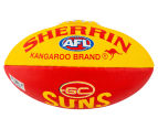 Sherrin Size 3 Splat Football - Gold Coast Suns 1